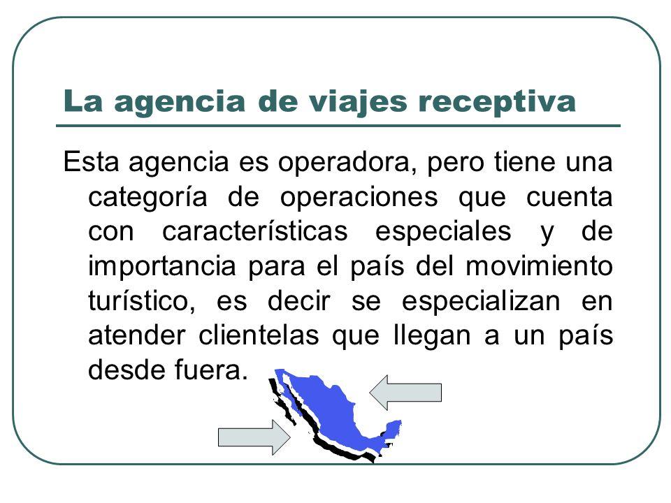 La agencia de viajes receptiva