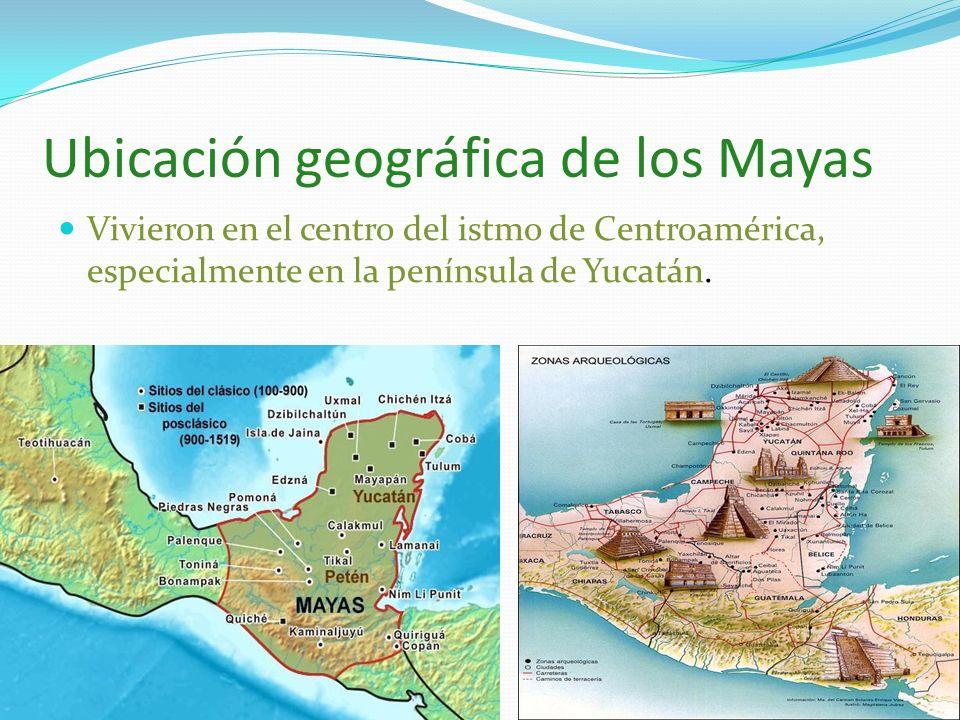 Civilizaciones mesoamericanas ppt video online descargar for Cultura maya ubicacion