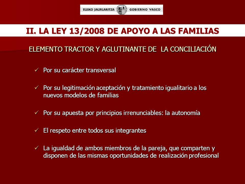 ELEMENTO TRACTOR Y AGLUTINANTE DE LA CONCILIACIÓN