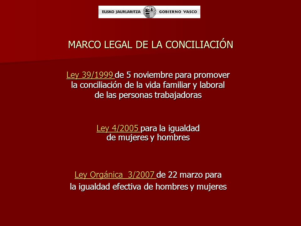 MARCO LEGAL DE LA CONCILIACIÓN