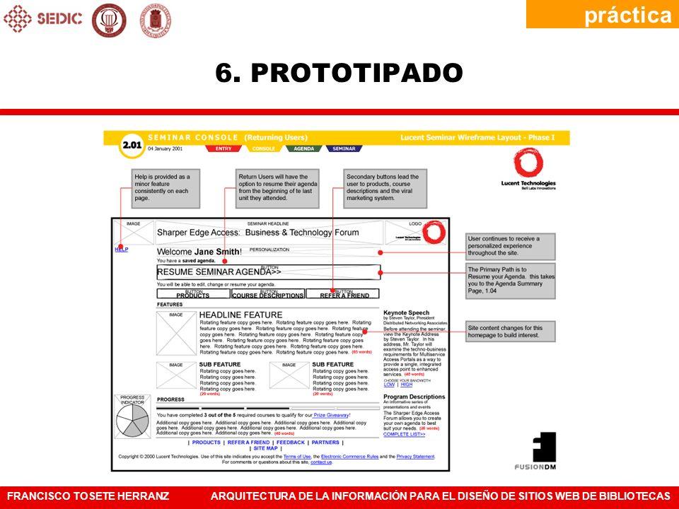 práctica 6. PROTOTIPADO