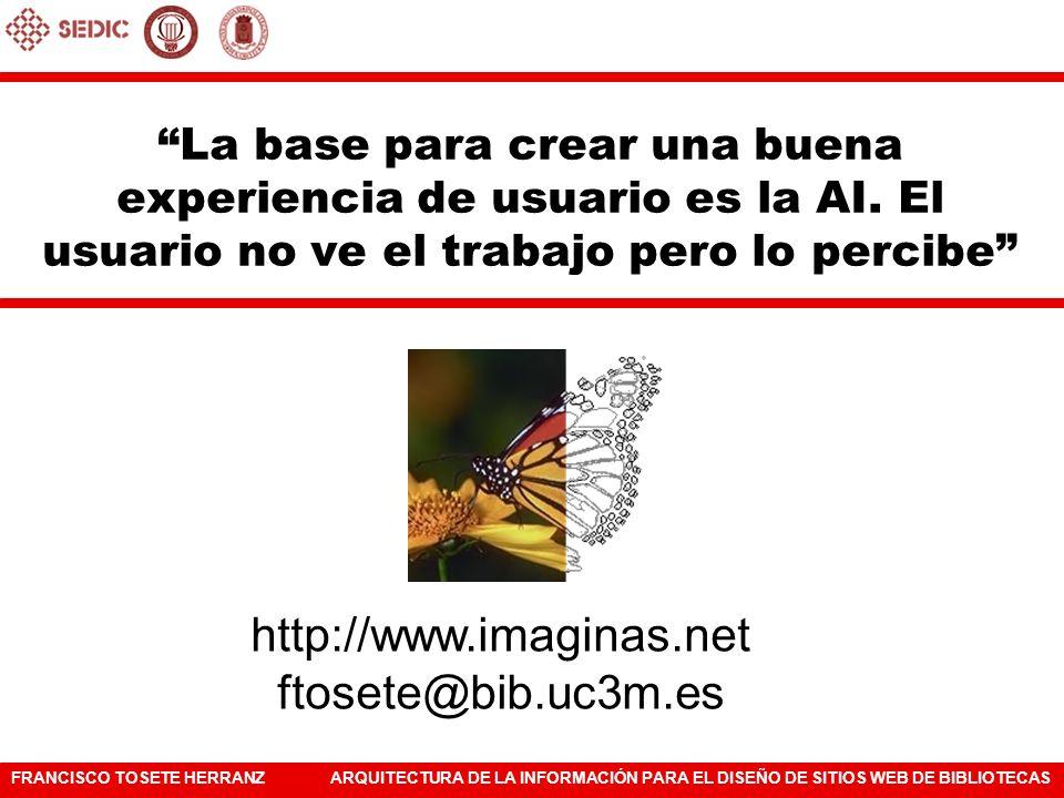 http://www.imaginas.net ftosete@bib.uc3m.es