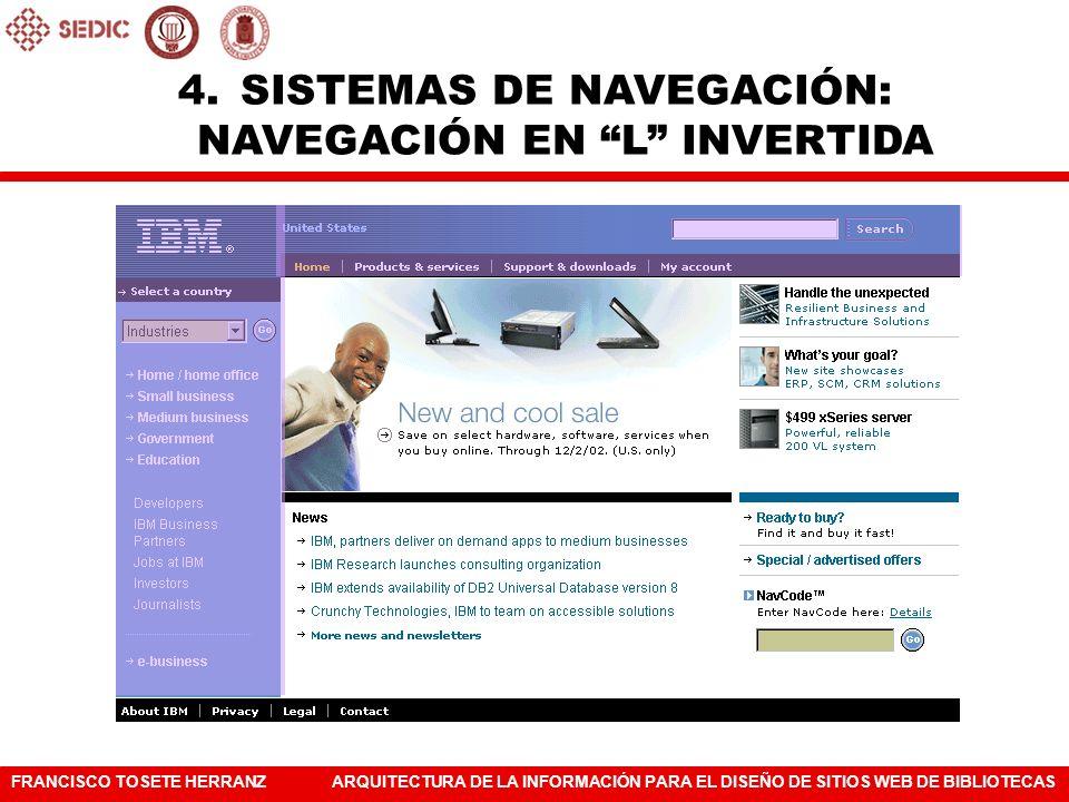 SISTEMAS DE NAVEGACIÓN: NAVEGACIÓN EN L INVERTIDA