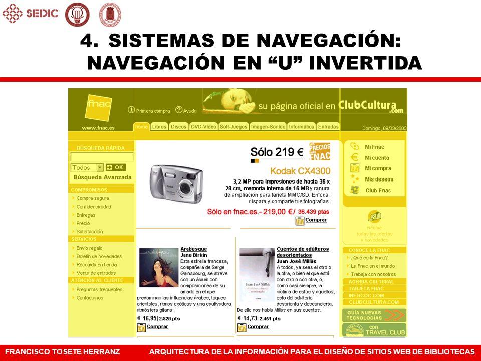 SISTEMAS DE NAVEGACIÓN: NAVEGACIÓN EN U INVERTIDA