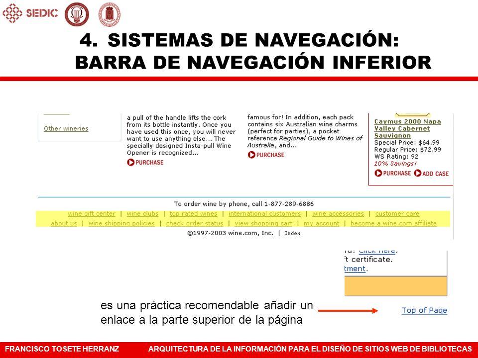 SISTEMAS DE NAVEGACIÓN: BARRA DE NAVEGACIÓN INFERIOR