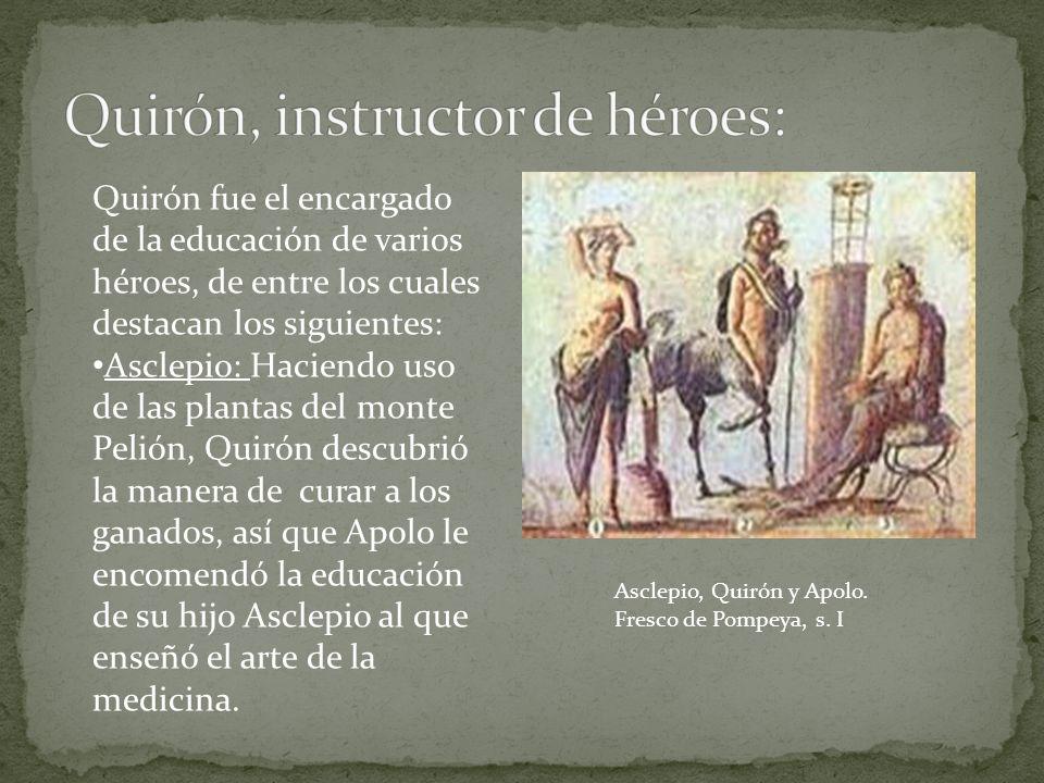 Quirón, instructor de héroes: