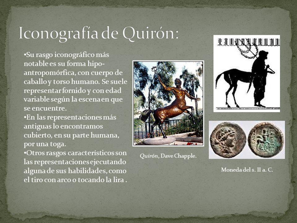 Iconografía de Quirón:
