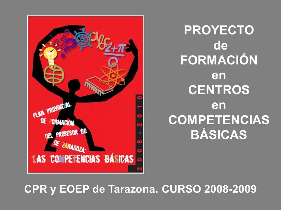 CPR y EOEP de Tarazona. CURSO 2008-2009
