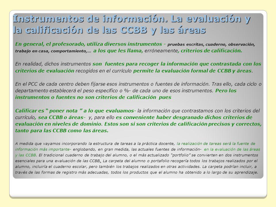 Instrumentos de información