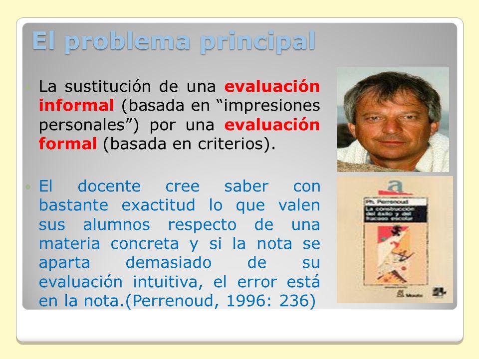 El problema principal