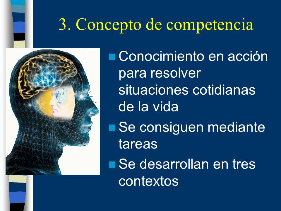 3. Concepto de competencia