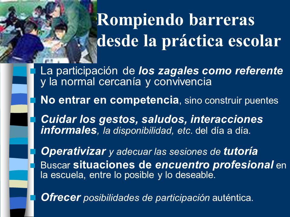 Rompiendo barreras desde la práctica escolar