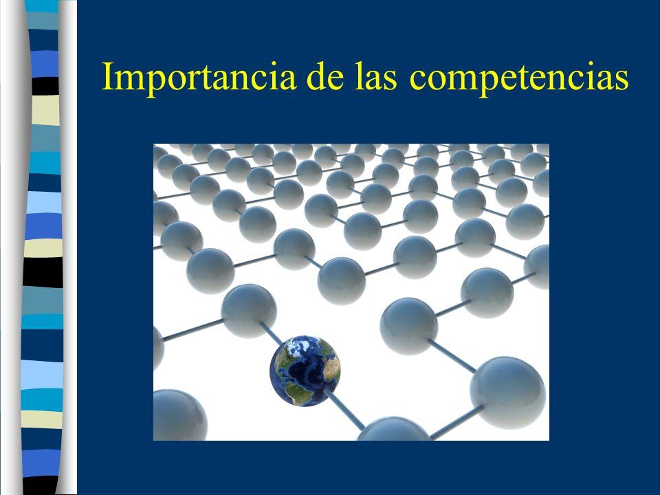 Importancia de las competencias