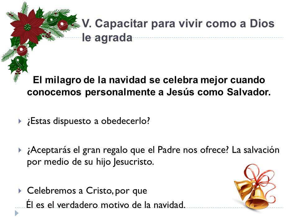 Jesucristo el verdadero motivo de la navidad ppt video - Motivos de la navidad ...