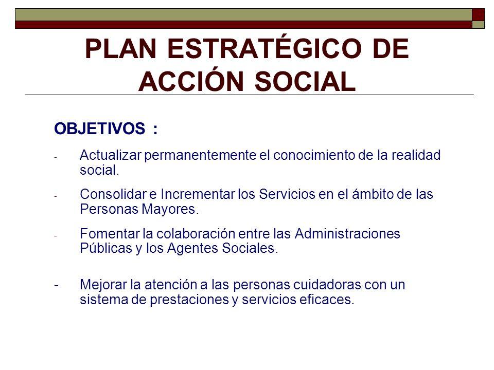 PLAN ESTRATÉGICO DE ACCIÓN SOCIAL