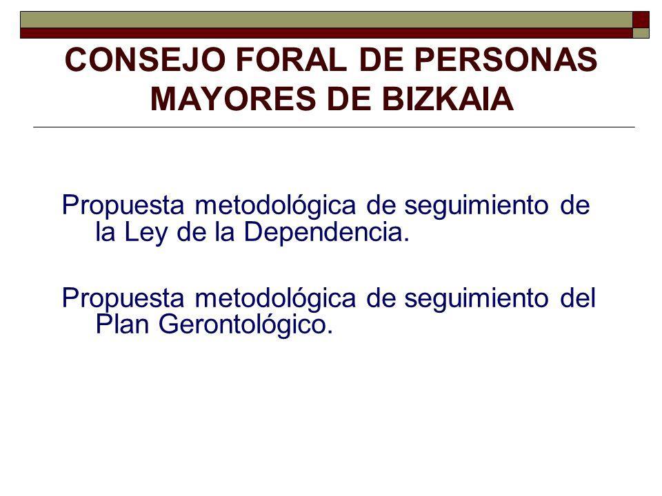 CONSEJO FORAL DE PERSONAS MAYORES DE BIZKAIA
