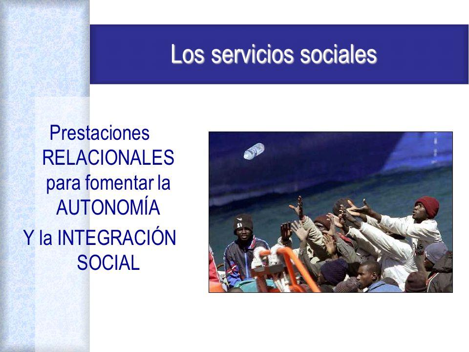 Los servicios sociales