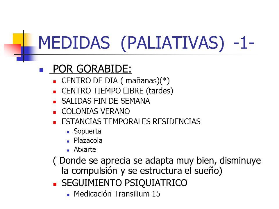 MEDIDAS (PALIATIVAS) -1-
