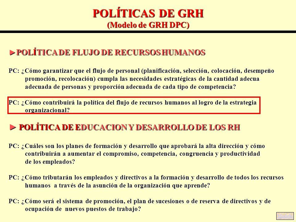 GESTIÓN DE RECURSOS HUMANOS (GRH ) CON ENFOQUE DE COMPETENCIAS ...