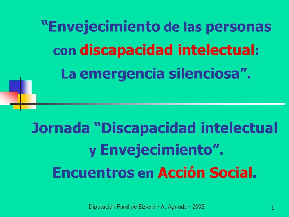 Jornada Discapacidad intelectual y Envejecimiento .