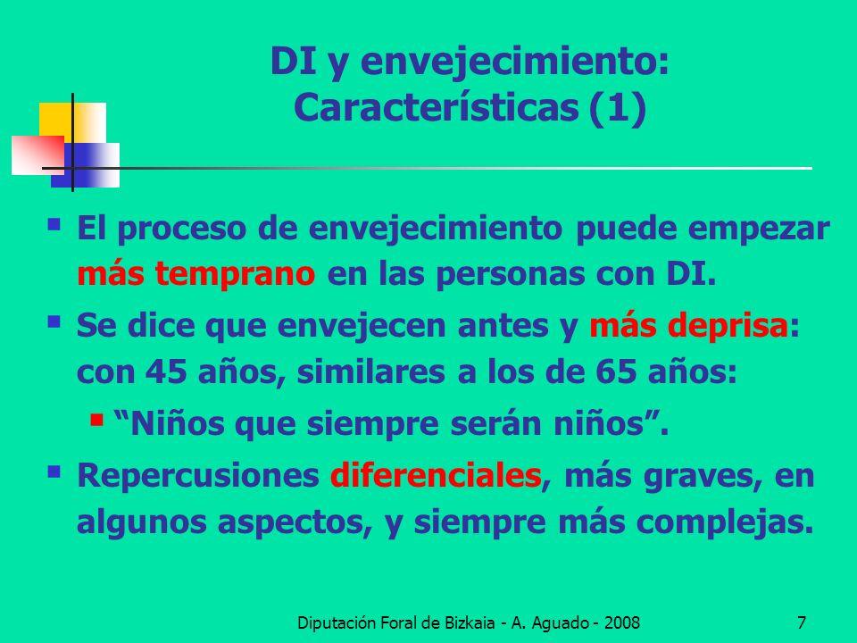DI y envejecimiento: Características (1)