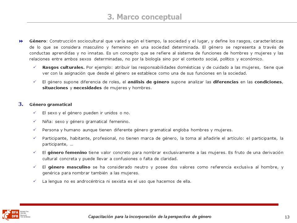 3. Marco conceptual