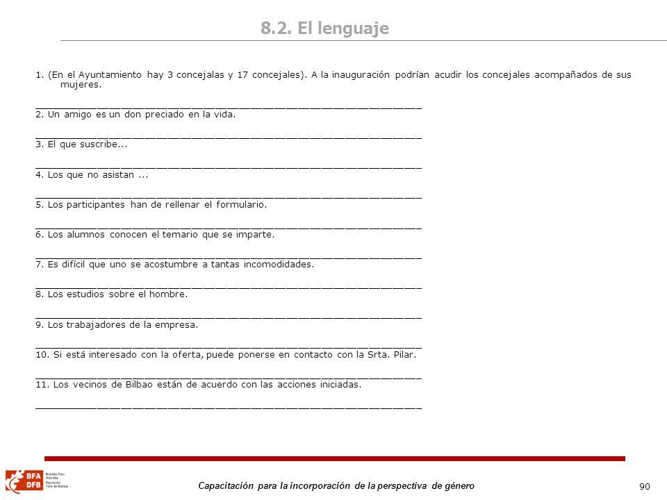 8.2. El lenguaje