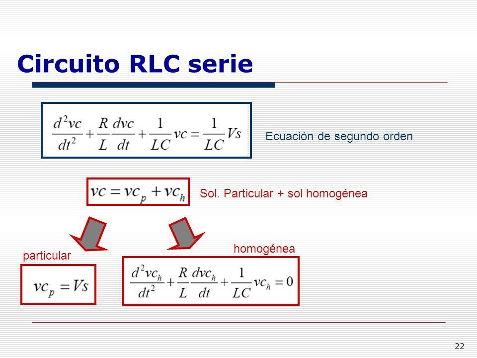 Circuito Rlc Ecuaciones Diferenciales : Tema i teoría de circuitos ppt descargar
