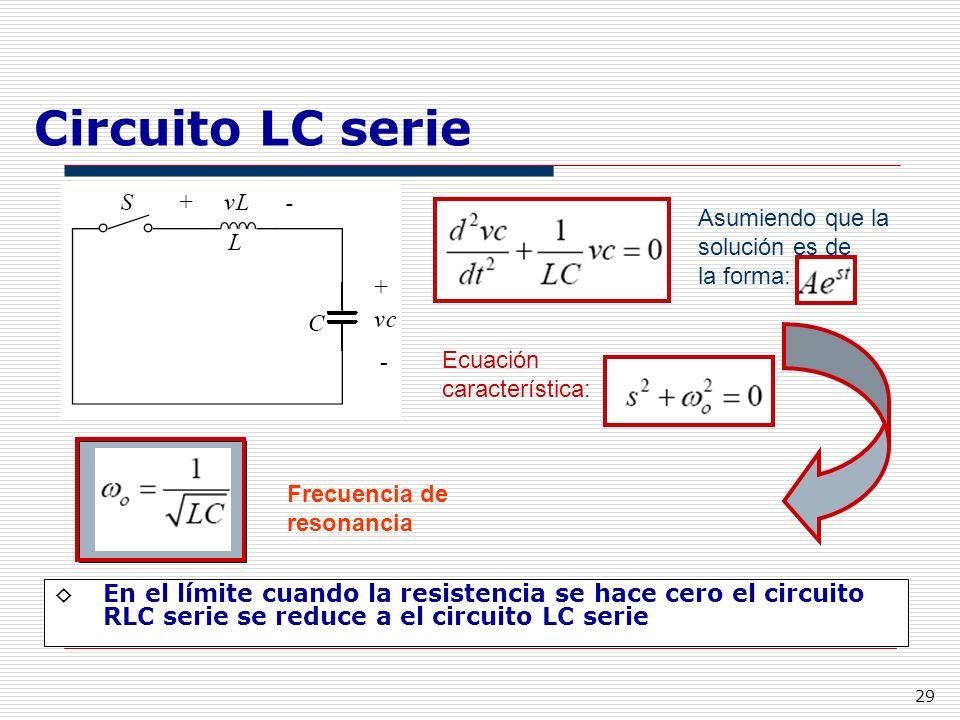 Circuito Lc : Tema i teoría de circuitos ppt descargar
