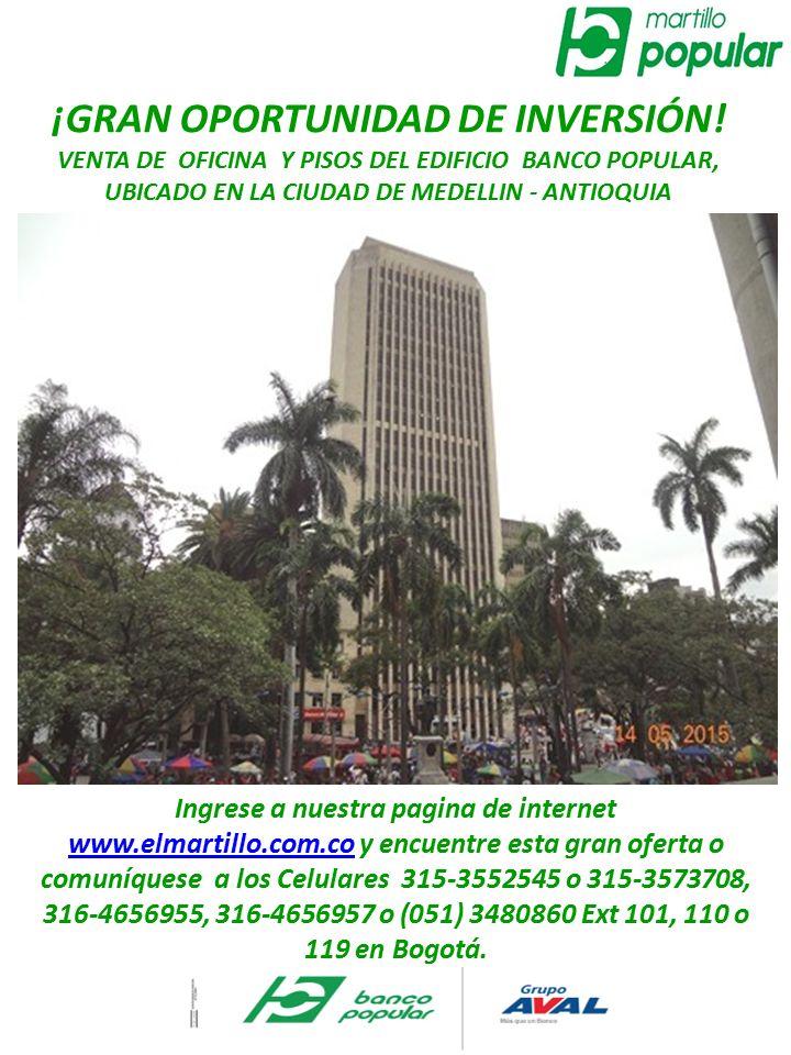 Gran oportunidad de inversi n ppt descargar for Pisos banco popular aliseda