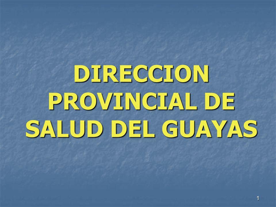 DIRECCION PROVINCIAL DE SALUD DEL GUAYAS