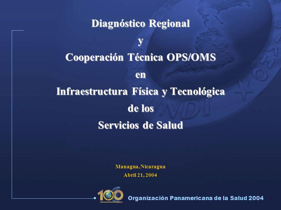 Cooperación Técnica OPS/OMS Infraestructura Física y Tecnológica