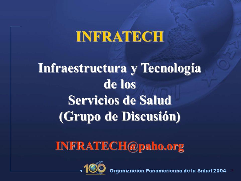 Infraestructura y Tecnología