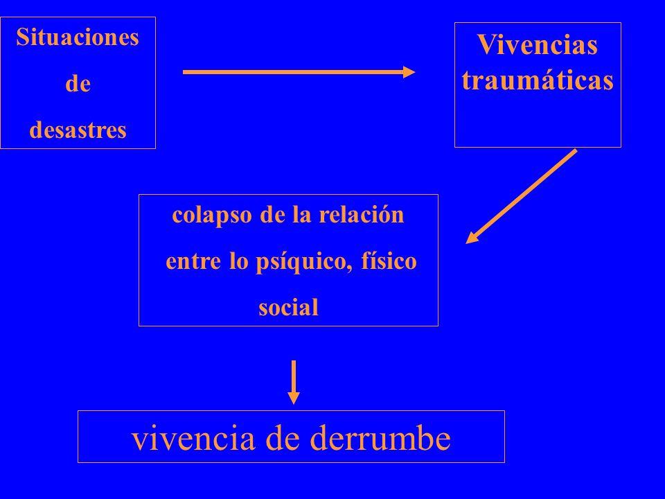 Vivencias traumáticas entre lo psíquico, físico