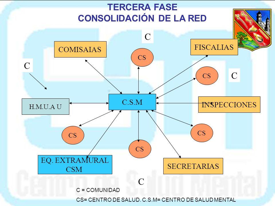 CONSOLIDACIÓN DE LA RED