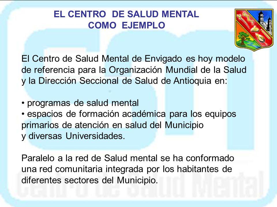 EL CENTRO DE SALUD MENTAL