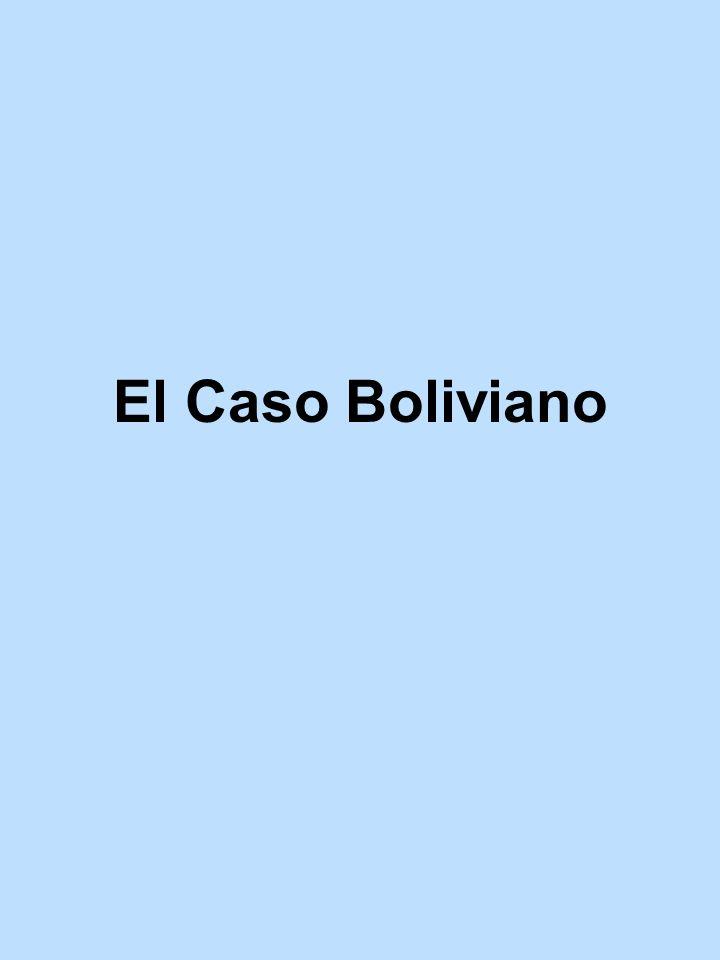 El Caso Boliviano