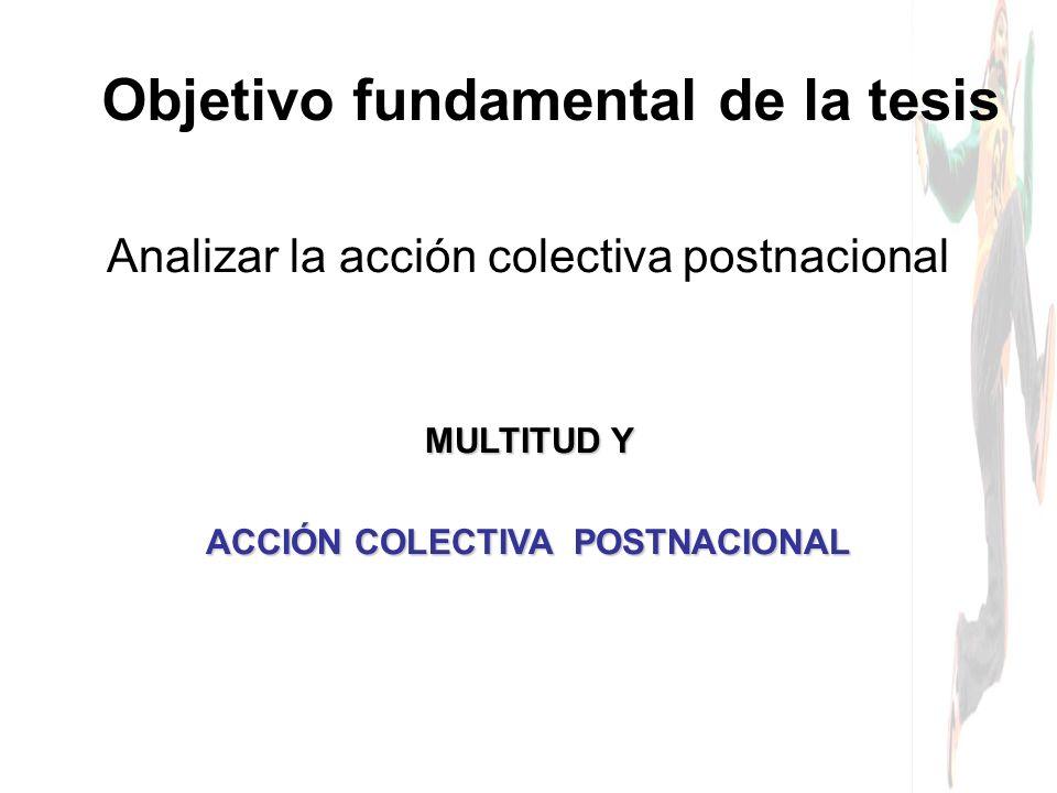Objetivo fundamental de la tesis