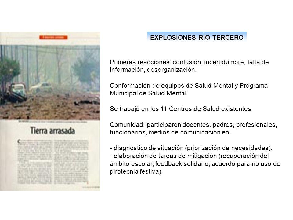 EXPLOSIONES RÍO TERCERO