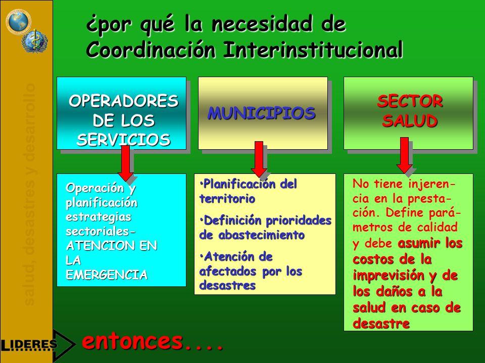 OPERADORES DE LOS SERVICIOS