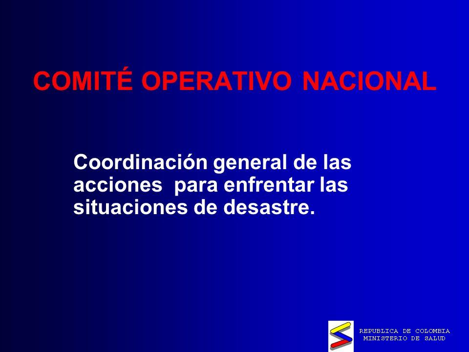 COMITÉ OPERATIVO NACIONAL