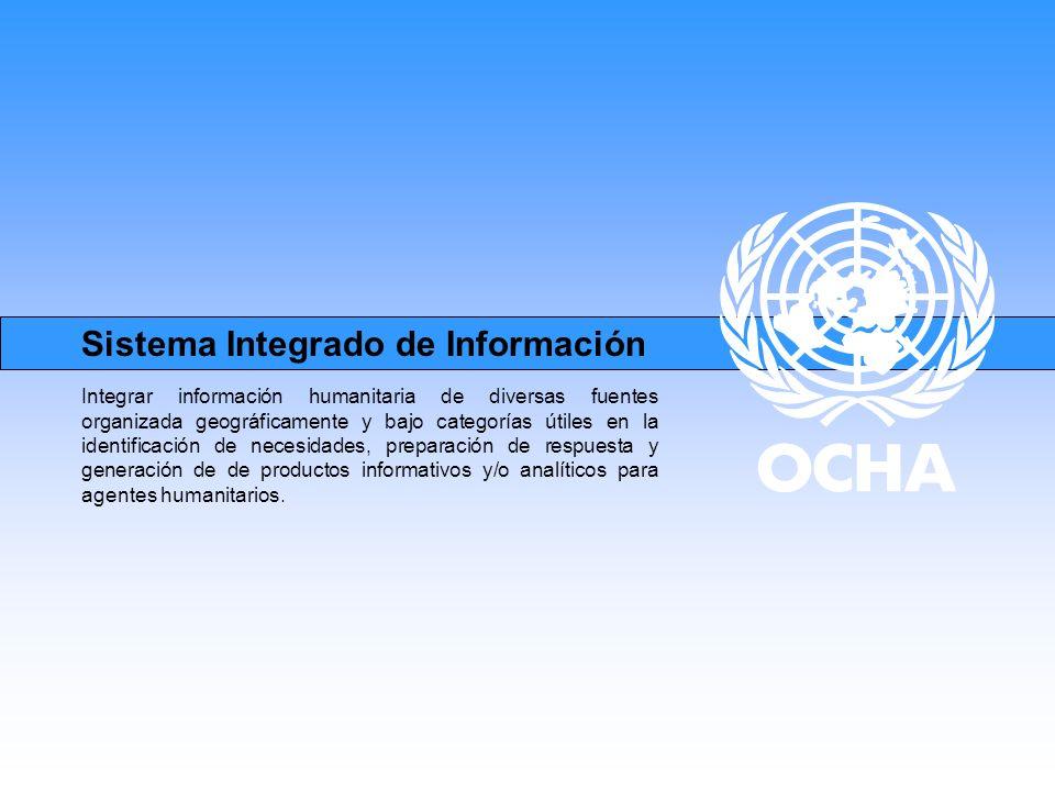 Sistema Integrado de Información