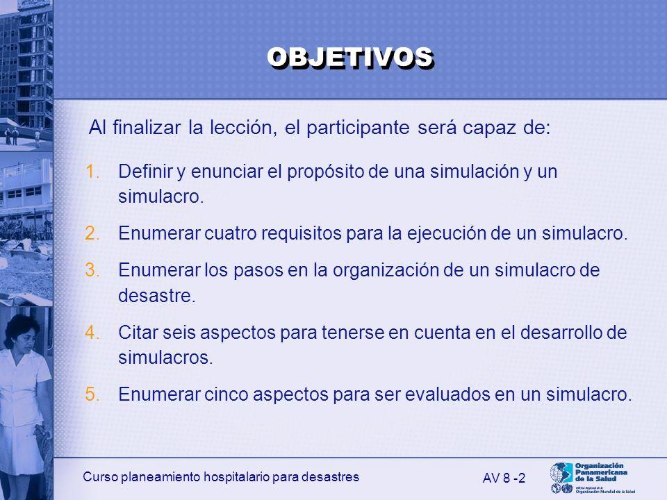 Al finalizar la lección, el participante será capaz de: