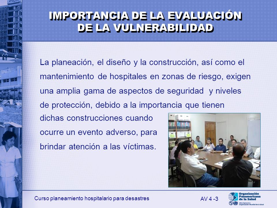 IMPORTANCIA DE LA EVALUACIÓN DE LA VULNERABILIDAD