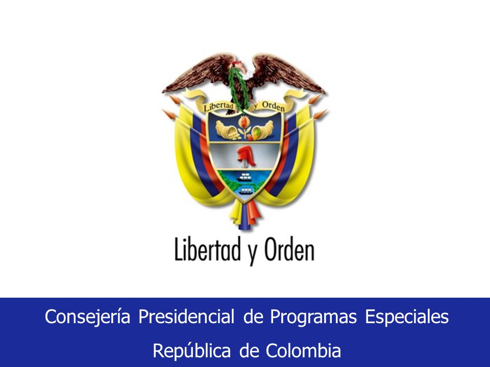 Consejería Presidencial de Programas Especiales