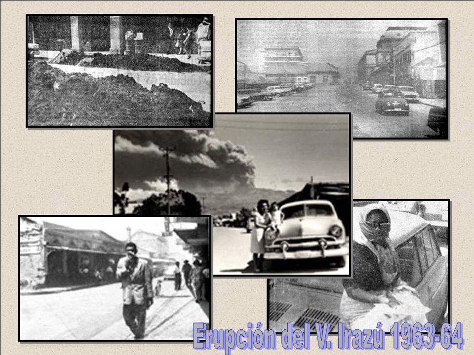 Erupción del V. Irazú 1963-64