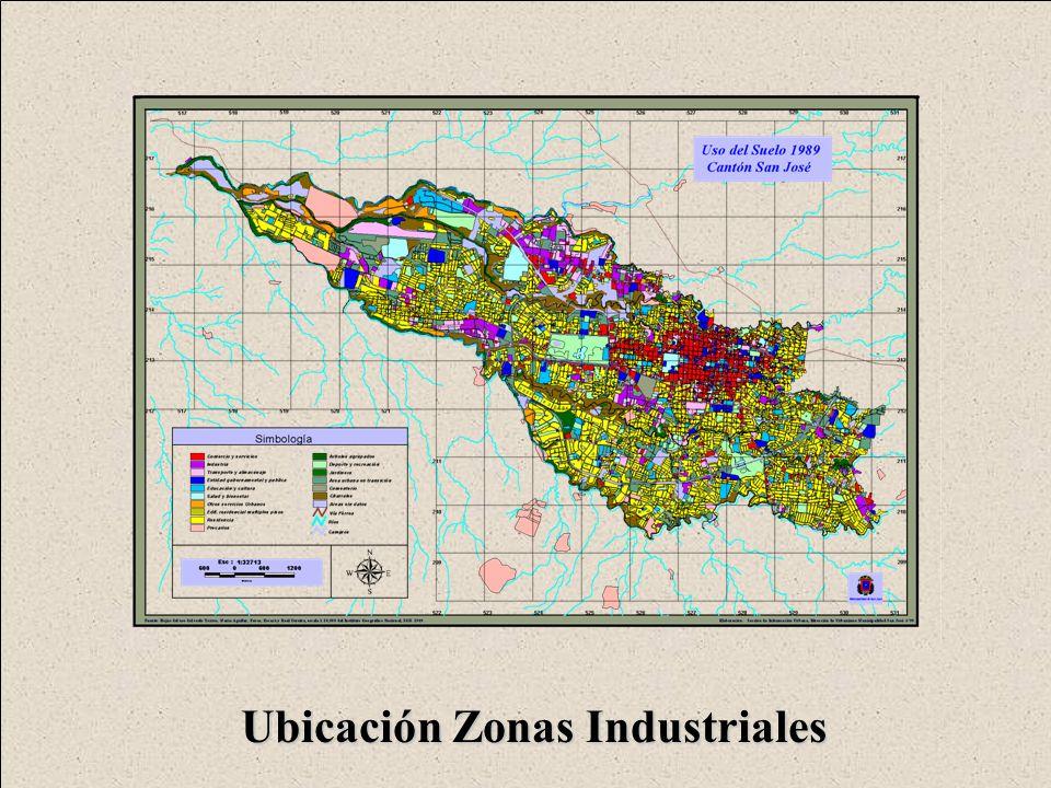 Ubicación Zonas Industriales