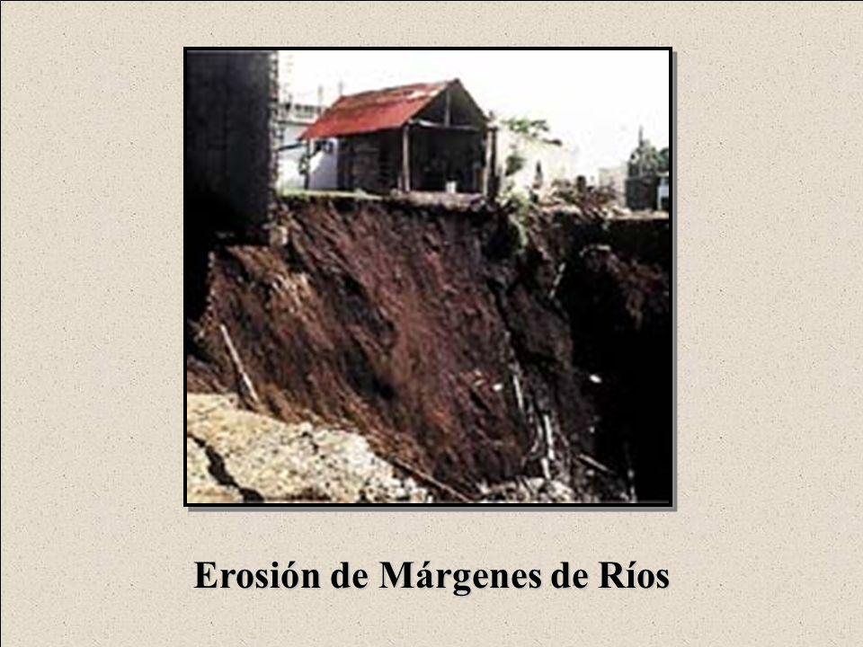 Erosión de Márgenes de Ríos
