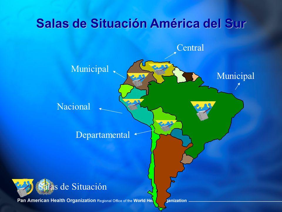 Salas de Situación América del Sur