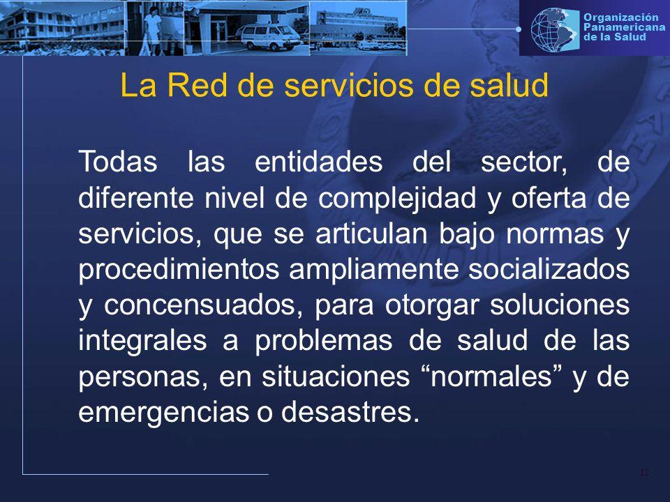 La Red de servicios de salud